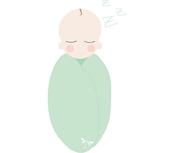All about swaddling babies
